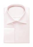 Folded shirt isolated on white Royalty Free Stock Photos