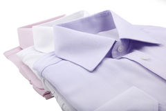 Folded shirts Royalty Free Stock Image