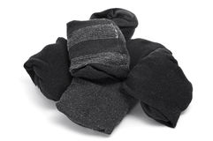 Folded socks Royalty Free Stock Images