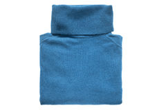Folded sweater isolated Stock Photo