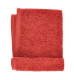 Folded terry towel isolated Stock Image