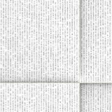 Folded text. Unfolded piece of generic text Royalty Free Stock Image