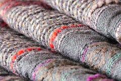 Folded textile Stock Image