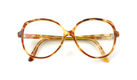Folded tortoise shell frames Royalty Free Stock Images