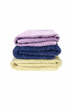 Folded Towels Stock Image
