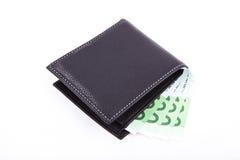 Folded wallet Royalty Free Stock Photo