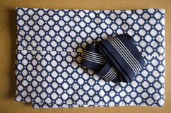 Folded yukata Stock Photo