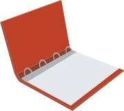 Folder 02. Folder color with paper sheet 02 royalty free illustration