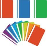 Folder 03. Folder color with paper sheet 03 royalty free illustration