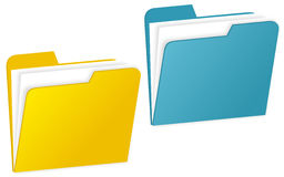 Folder Royalty Free Stock Photo