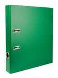 Folder. Green folder isolated on white background Royalty Free Stock Images