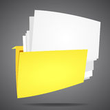Folder Royalty Free Stock Photography