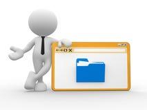 Folder Stock Image