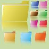 folder Fotografia Stock
