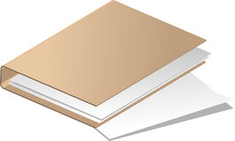 Folder. Vector illustration - folders for documents Royalty Free Stock Image