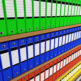 Folder archive Royalty Free Stock Photos