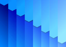 Folder background template in blue Stock Image