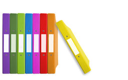 Folder color Stock Photography