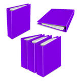 Folder color vector icon. Organizing graphic Royalty Free Stock Photo
