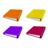 Folder color vector icon. Organizing graphic Stock Photo