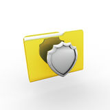 Folder. 3d  Royalty Free Stock Photography