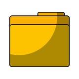 Folder document isolated icon. Vector illustration design Stock Photo