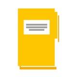 Folder document isolated icon. Vector illustration design Stock Photography