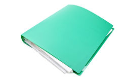 Folder with the documents Stock Photos