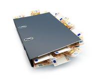 Folder euro Stock Photo