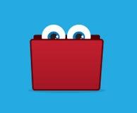 Folder Eyes Stock Image