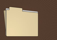 Folder File. Editable vector business background - Folder file Stock Photo