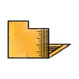 Folder file document sketch. Illustration eps 10 Royalty Free Stock Photo