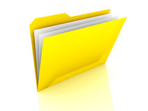 Folder with files Stock Images