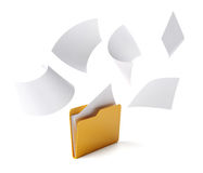 Folder files Stock Photos