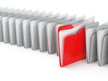 Folder files Royalty Free Stock Images