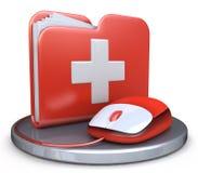 Folder first aid Stock Photo