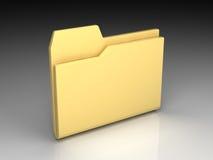 Folder icon Royalty Free Stock Image