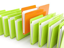 Folder icon Royalty Free Stock Images