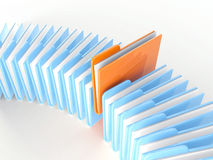 The folder icon Stock Photography