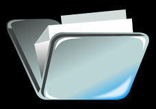 Folder icon Royalty Free Stock Photo