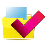 Folder icon Stock Images