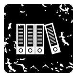 Folder icon, grunge style Royalty Free Stock Image