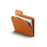 Folder icon Royalty Free Stock Photography