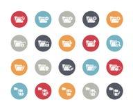 Folder Icons - 1 of 2 // Classics Stock Image