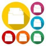 folder Illustrazione di vettore illustrazione di stock