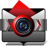 Folder for images Stock Image