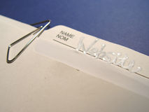 folder jednostek gospodarczych obraz stock