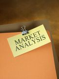Folder by market Analysis Stock Images