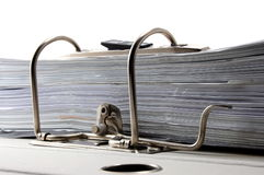 Folder in an office Royalty Free Stock Photography