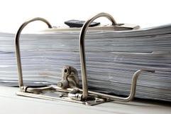 Folder in an office Stock Image